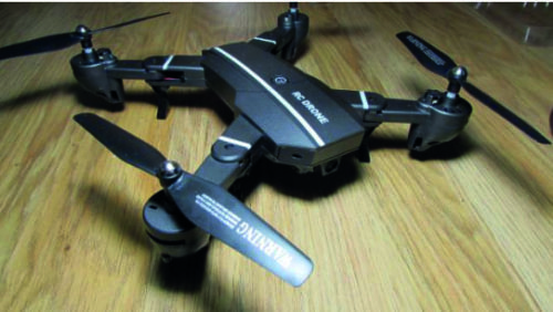 Drone 8807 Quadcopter RC Plegable photo review