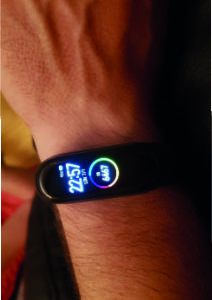 Smartwatch Smart Band 4 Mi Band 4 Compatible con ios y Android photo review
